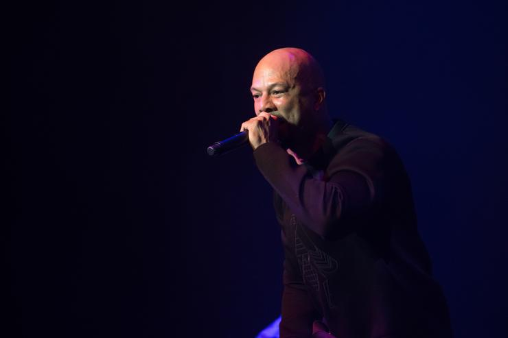 Common performs at the 'Blue Note Records: Beyond the Notes' screening during the 2018 Tribeca Film Festival at Spring Studios on April 23, 2018 in New York City.