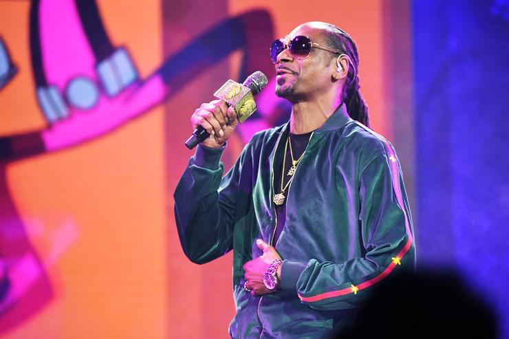 Snoop Dogg on May 16, 2018 in New York City