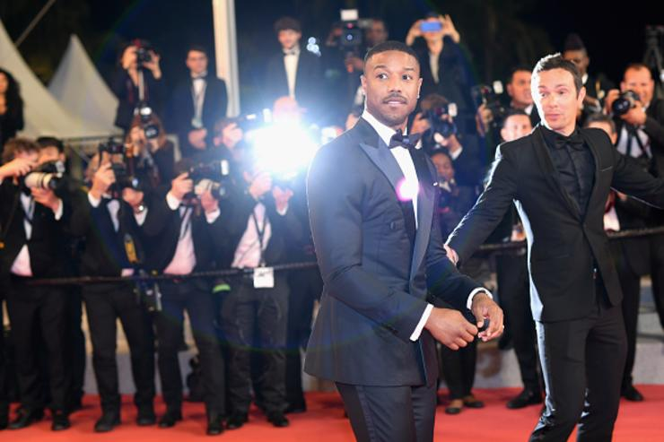 Michael B. Jordan attends the screening of 'Farenheit 451' during the 71st annual Cannes Film Festival at Palais des Festivals on May 12, 2018 in Cannes, France.