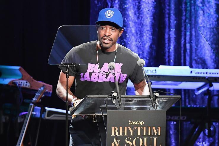 Rapper Andre 3000 speaks onstage at the 2016 ASCAP Rhythm & Soul Awards at the Beverly Wilshire Four Seasons Hotel on June 23, 2016 in Beverly Hills, California.