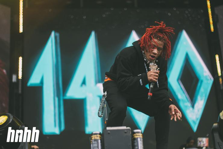 Trippie Redd at Rolling Loud
