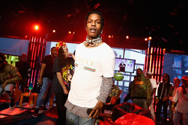 A$AP Rocky and A$AP Mob perform at MTV Studios on September 30, 2016 in New York City