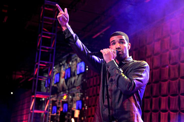 Drake performs at ESPN The Magazine's 'NEXT' Event on February 3, 2012 in Indianapolis, Indiana