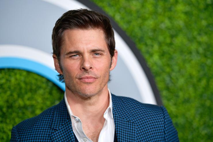 James Marsden attends the 2017 GQ Men of the Year party at Chateau Marmont on December 7, 2017 in Los Angeles, California.