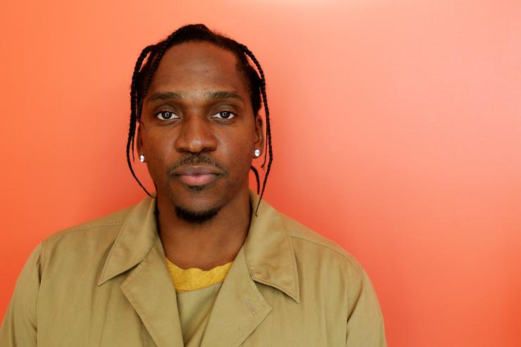 Rapper Pusha T speaks at Harvard University on March 31, 2016 at the Harvard-Yenching Library in Cambridge, Massachusetts