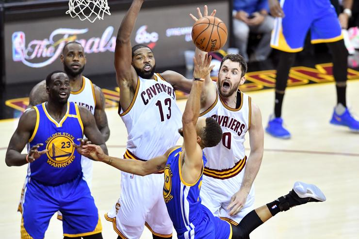 Klay Thompson doesn't care if Cavs' Tristan Thompson plays in Game 2