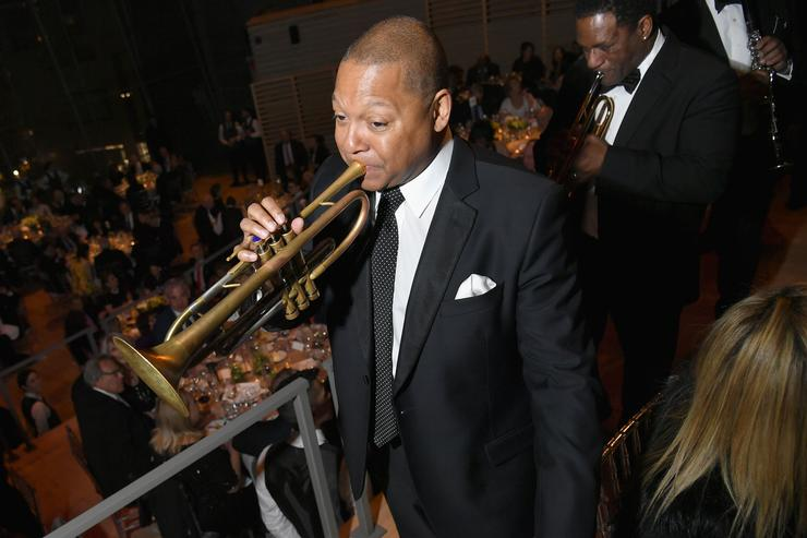 Famed jazz player Wynton Marsalis