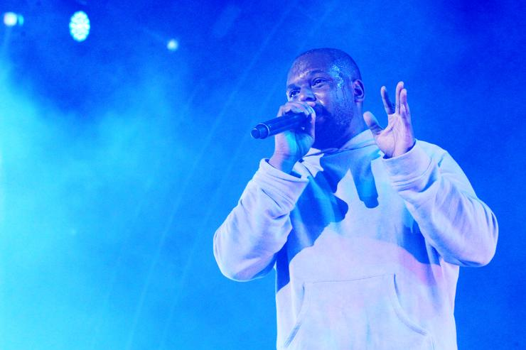 ScHoolboy Q performs onstage at night three of the STAPLES Center Concert, sponsored by Sprite, during the 2017 BET Experience at Staples Center on June 24, 2017 in Los Angeles, California
