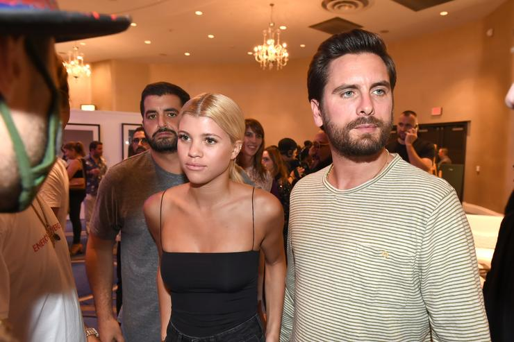 Scott Disick and Sofia Richie never broke up