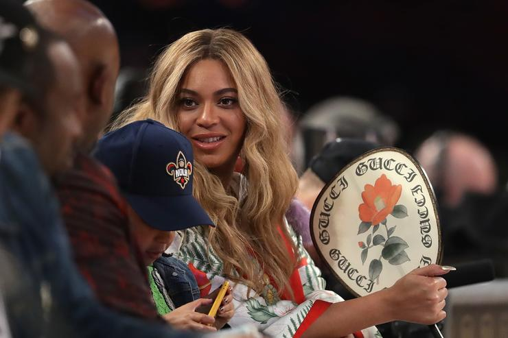 Beyonce attends the 2017 NBA All-Star Game at Smoothie King Center on February 19, 2017 in New Orleans, Louisiana