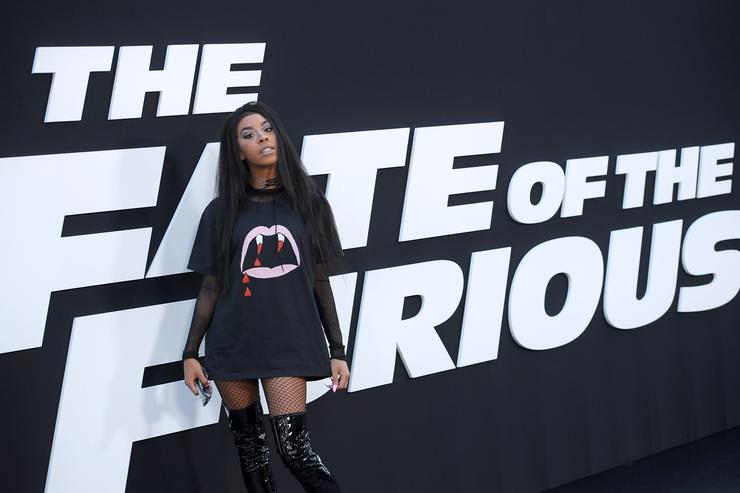 Musician Rico Nasty attends 'The Fate Of The Furious' New York Premiere at Radio City Music Hall on April 8, 2017 in New York City.