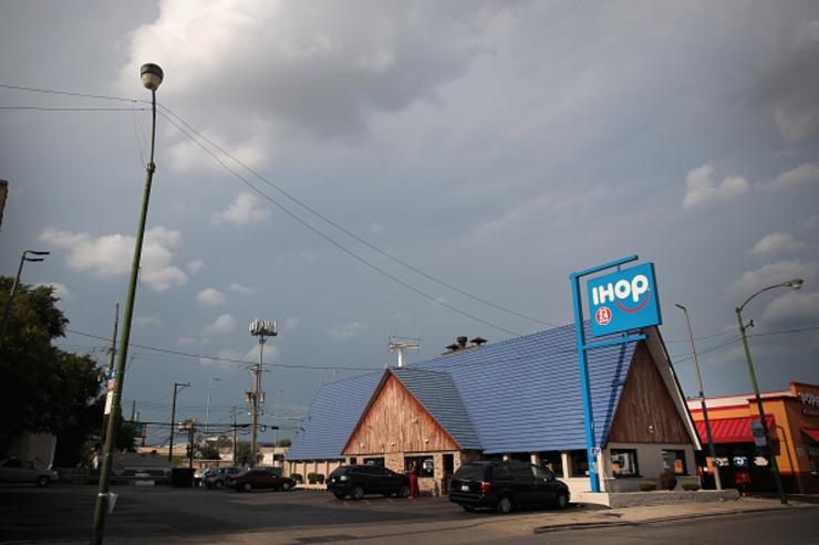 Chicago Illinois. DineEquity the parent company of Applebee's and IHOP plans to close up to 160 restaurants in the first quarter of 2018. The announcement helped the stock climb more than 4