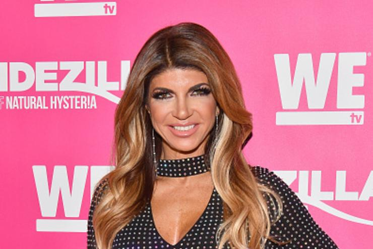 Teresa Giudice attends WE tv Launches Bridezillas Museum Of Natural Hysteria on February 22, 2018 in New York City.