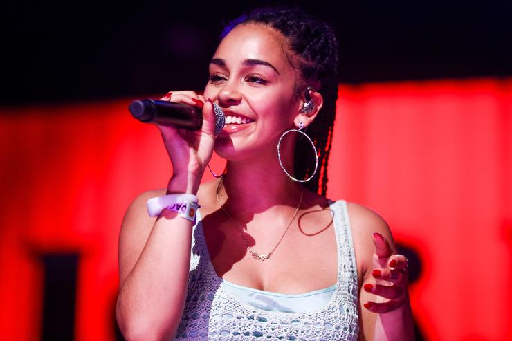 Jorja Smith performs onstage during the 2018 Coachella Valley Music And Arts Festival at the Empire Polo Field on April 21, 2018 in Indio, California