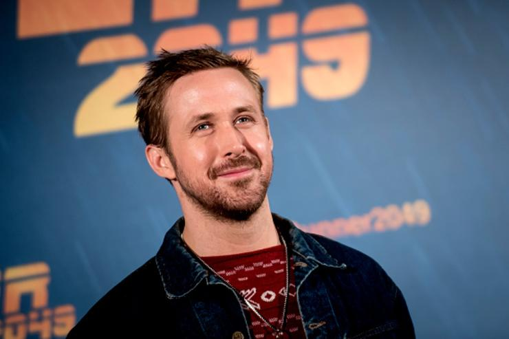 : Actor Ryan Gosling during 'Blade Runner 2049' Madrid Photocall on September 19, 2017 in Madrid, Spain.