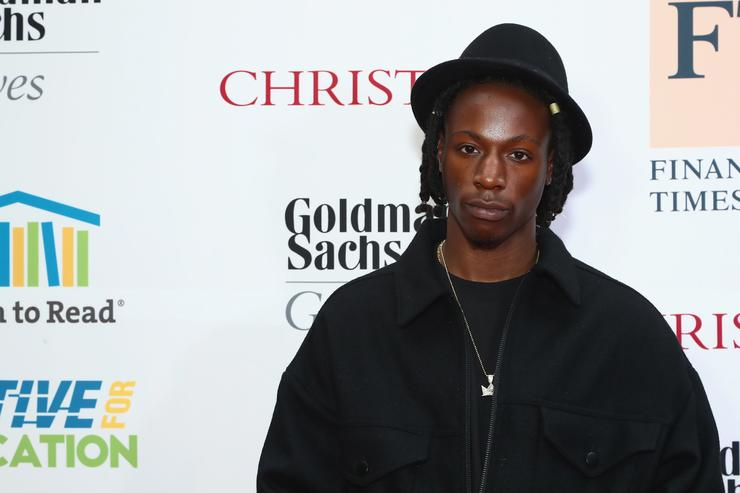 Rapper Joey Badass at the Room to Read event honoring Sean 'Diddy' Combs & David M. Solomon for Impact On Global Education at 2017 New York Gala at The Highline Hotel on May 11, 2017 in New York City.