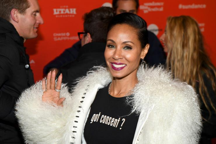 Jada Pinkett Smith attends the 'Skate Kitchen' Premiere during 2018 Sundance Film Festival at Park City Library on January 21, 2018 in Park City, Utah.