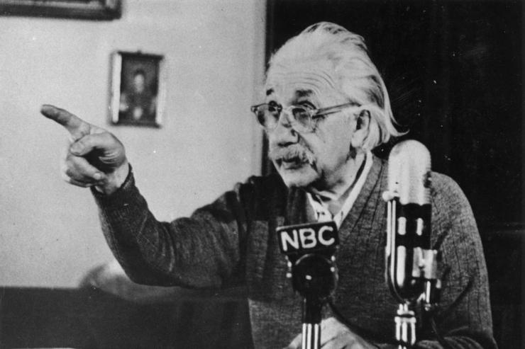 Einstein's Newly Translated Diaries Exhibit Racism