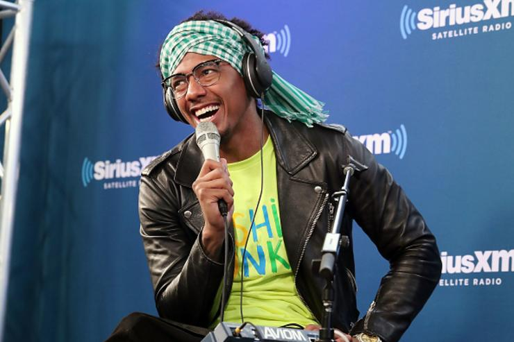 Nick Cannon and Ncredible Gang perform on SiriusXM's Hip Hop Nation on April 24, 2018 in New York City.