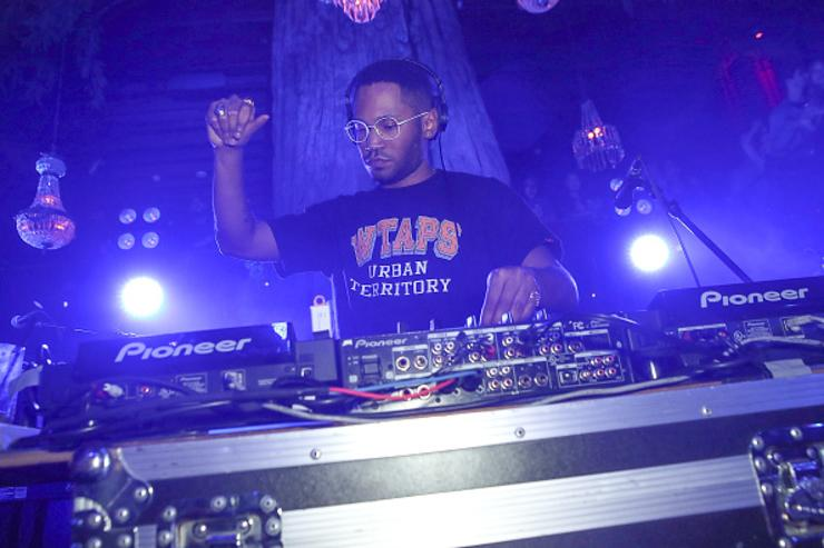 DJ Kaytranada performs at Soho Sounds: LA hosted by Soho House with Samsung, BMW of Beverly Hills & Bacardi on February 11, 2017 in Los Angeles, California.