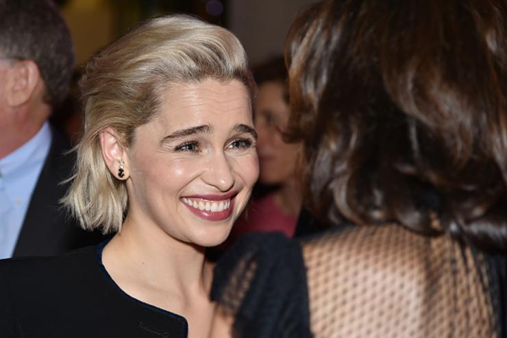 Actress Emilia Clarke attends Lincoln Center's American Songbook Gala at Alice Tully Hall on May 29, 2018 in New York City.