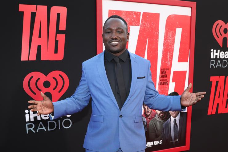 Hannibal Buress attends the premiere of Warner Bros. Pictures And New Line Cinema's 'Tag' at Regency Village Theatre on June 7, 2018 in Westwood, California.