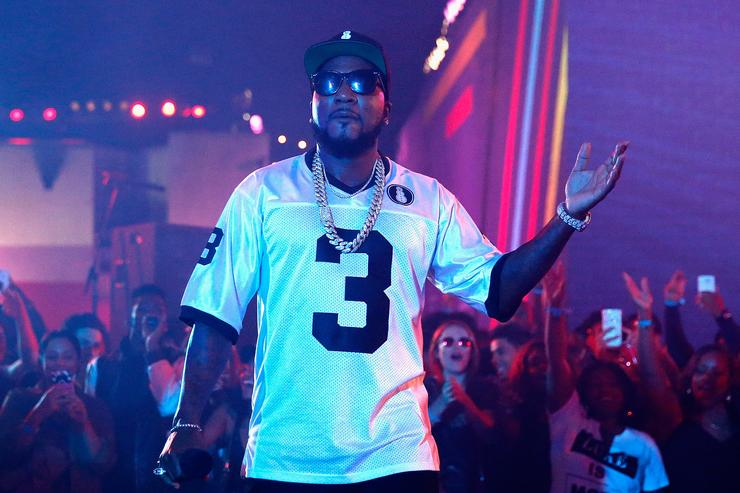 Rapper Jeezy performs onstage at MTV's 'Wonderland' LIVE Show on November 3, 2016 in Los Angeles, California.