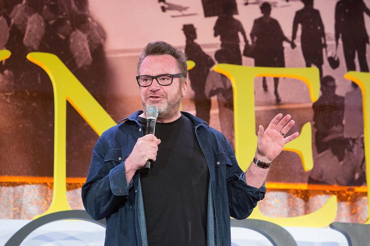 Tom Arnold, Actor, Comedian, and Recovery Advocate, was among the advocates speaking at The Kennedy Forum National Summit On Mental Health Equity And Justice In Chicago at the Chicago Hilton and Tower Hotel on January 16, 2018 in Chicago, Illinois.