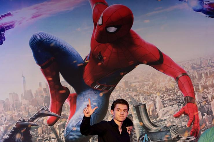 Tom Holland attends the 'Spider-Man: Homecoming' press conference at Conrad Seoul Hotel on July 3, 2017 in Seoul, South Korea.