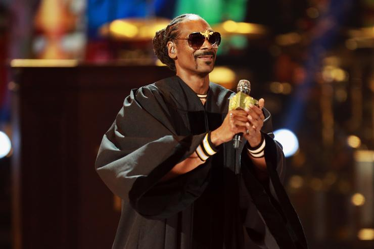 Snoop Dogg performs onstage at the 2018 BET Awards at Microsoft Theater on June 24, 2018 in Los Angeles, California.