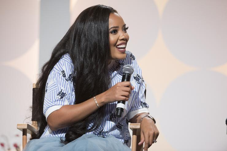 Angela Simmons speaks at the Hollywood's Millennials: International Faith & Family Film Festival Rising Stars panel during MegaFest at Omni Hotel on July 1, 2017 in Dallas, Texas