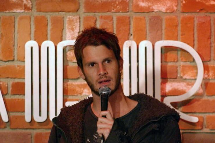 Daniel Tosh performs at the Hollywood Improv on December 12, 2007 in Hollywood, CA.