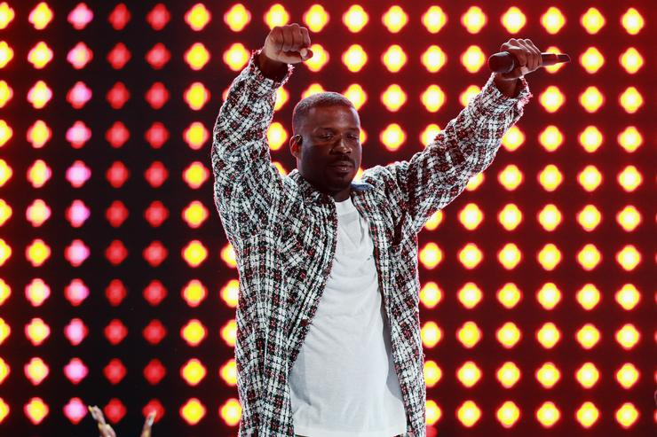 Jay Rock performs onstage at the 2018 BET Awards at Microsoft Theater on June 24, 2018 in Los Angeles, California.