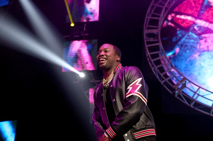 Meek Mill performs onstage at the STAPLES Center Concert Sponsored by SPRITE during the 2018 BET Experience on June 23, 2018 in Los Angeles, California