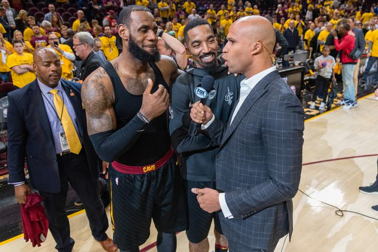 Richard Jefferson jokes he's not LeBron James' friend anymore
