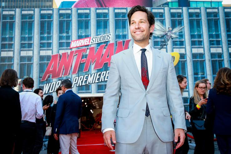 Paul Rudd attends the premiere of Disney And Marvel's 'Ant-Man And The Wasp' on June 25, 2018 in Hollywood, California.
