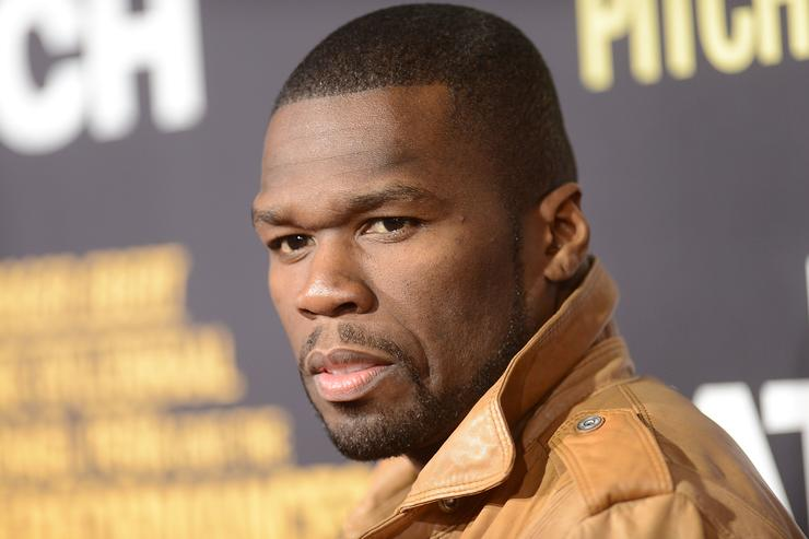'50 Cent' Curtis James Jackson arrives at the premiere of Open Road Films' 'End of Watch' at Regal Cinemas L.A. Live on September 17, 2012 in Los Angeles, California