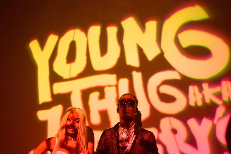 Jerrika Karlae and Young Thug attend Young Thug's 25th Birthday and PUMA AW16 Campaign on August 15, 2016 in Atlanta, Georgia