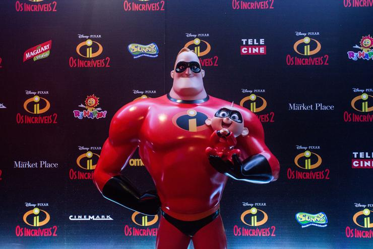 General view of the Sau Paulo Premiere of Incredibles 2 at Shopping Market Place on June 23, 2018 in Sau Paulo, Brazil.