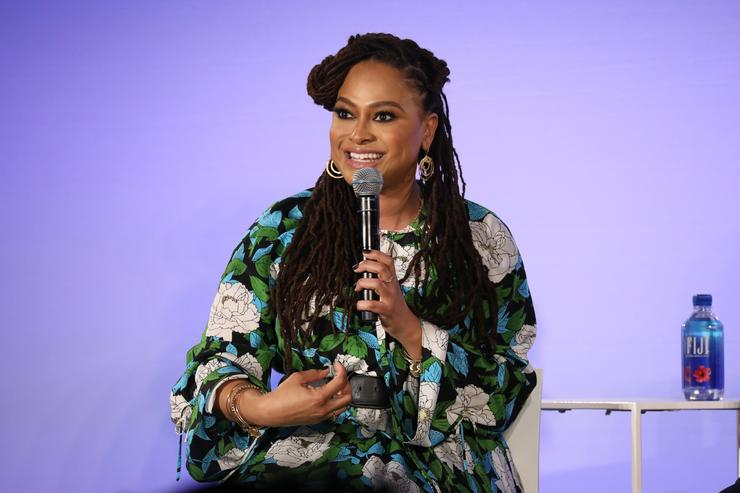 Ava DuVernay of Queen Sugar speaks on 'Ava DuVernay and the Cast of Queen Sugar' during Day Two of the Vulture Festival Presented By AT&T at Milk Studios on May 20, 2018 in New York City