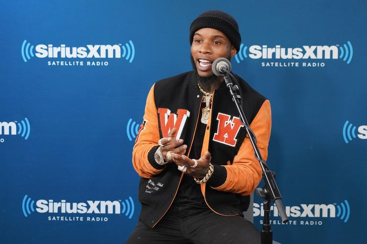 Tory Lanez takes part in his album listening event on SiriusXM's The Heat Channel at SiriusXM Studios on March 2, 2018 in New York City.