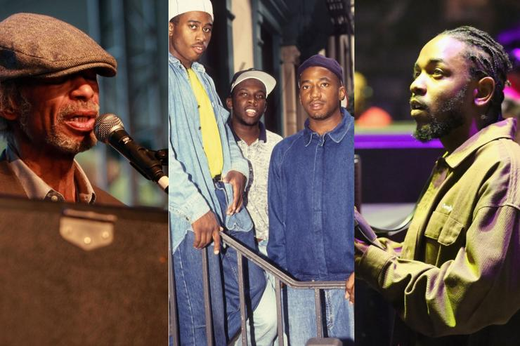 Gil Scott-Heron, A Tribe Called Quest & Kendrick Lamar: hip-hop jazz inspirations