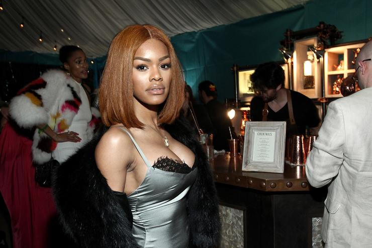 Teyana Taylor attends the Def Jam Toasts The Grammys at the Private Residence of Jonas Tahlin, CEO Absolut Elyx on February 12, 2017 in Los Angeles, California