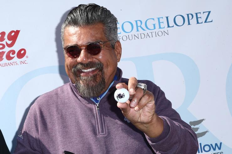 George Lopez attends the 11th Annual George Lopez Celebrity Golf Classic at Lakeside Country Club on May 7, 2018 in Toluca Lake, California.