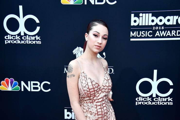 Recording artist Bhad Bhabie attends the 2018 Billboard Music Awards at MGM Grand Garden Arena on May 20, 2018 in Las Vegas, Nevada.