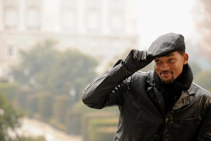 Actor Will Smith attends 'Seven Pounds' photocall at Teatro Real on January 13, 2009 in Madrid, Spain.
