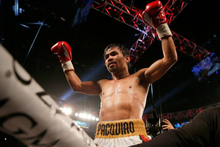 Revived Pacquiao stuns Matthysse to claim welterweight crown
