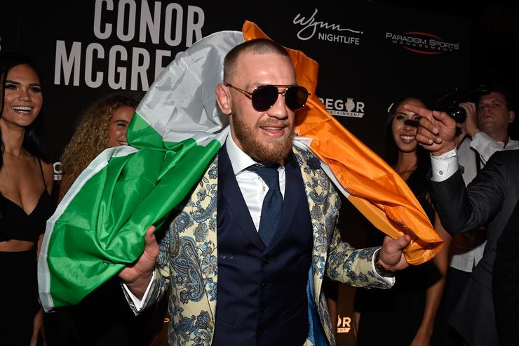 Conor McGregor attends World Cup final as Vladimir Putin's guest