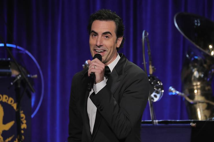 Watch 10 minutes of Borat creator's new show 'Who is America?'