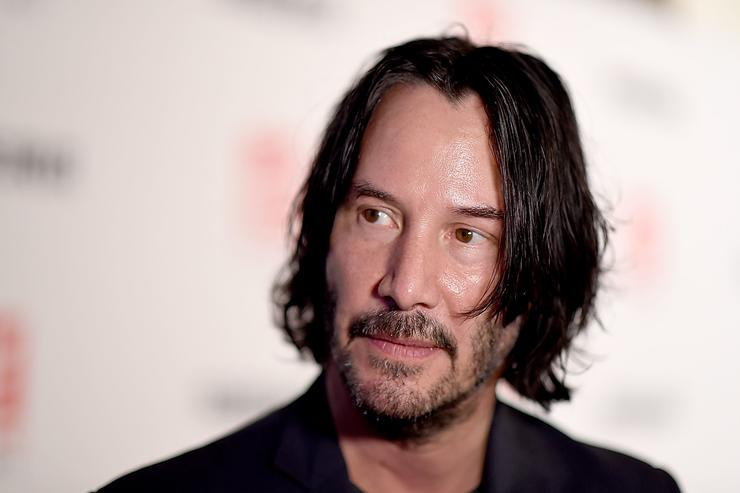 Keanu Reeves attends the'Siberia' New York Premiere at The Metrograph on July 11, 2018 in New York City.